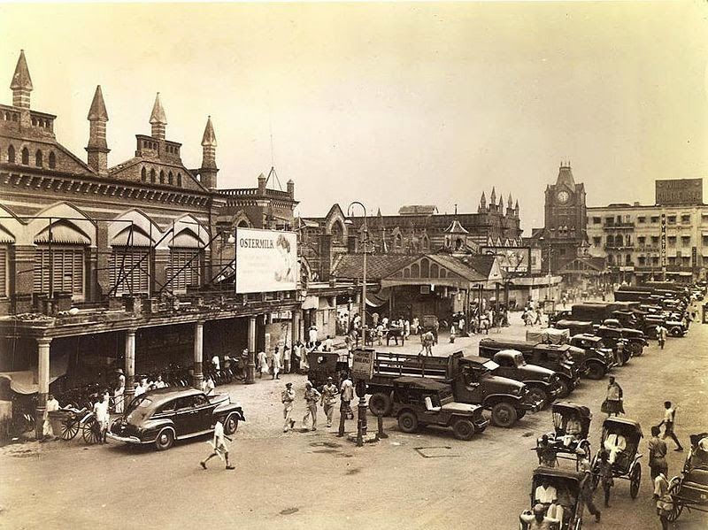 That Was Then. The Hogg (New) Market, as it once was. And, for that matter, much as it still is.