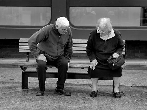 sitting oldies