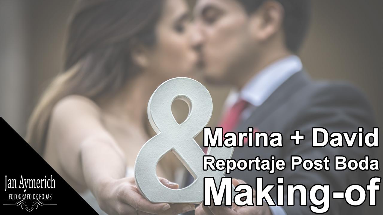 video post boda barcelona marina david