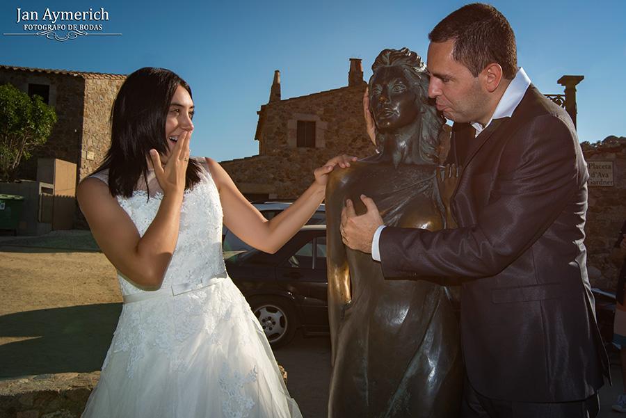 fotografo de bodas tossa de mar