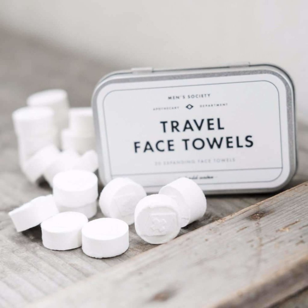 Men's Society Travel Face Towels — The Barber House Birmingham