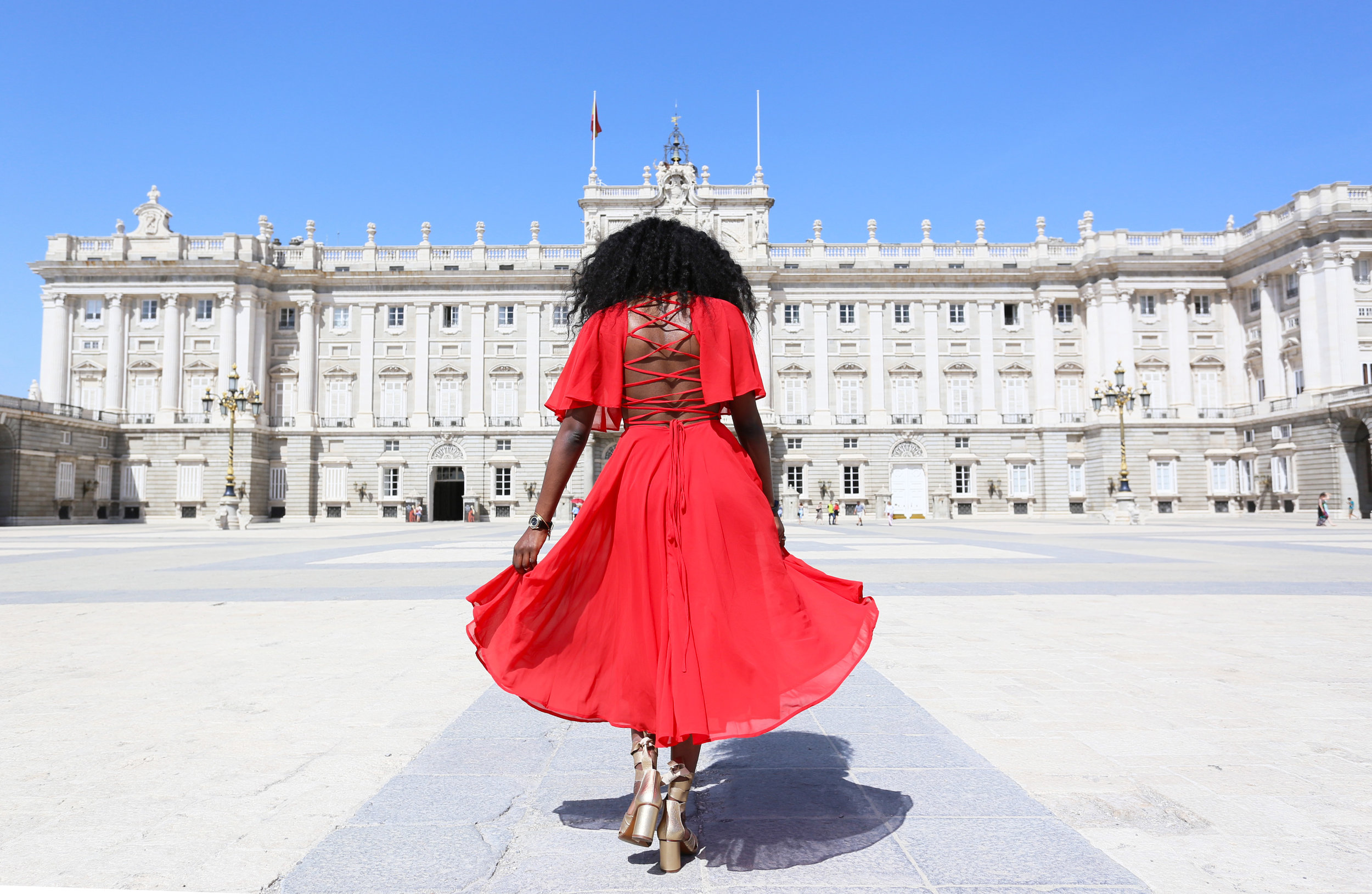 Lady in Red -  Palacio Real de Madrid