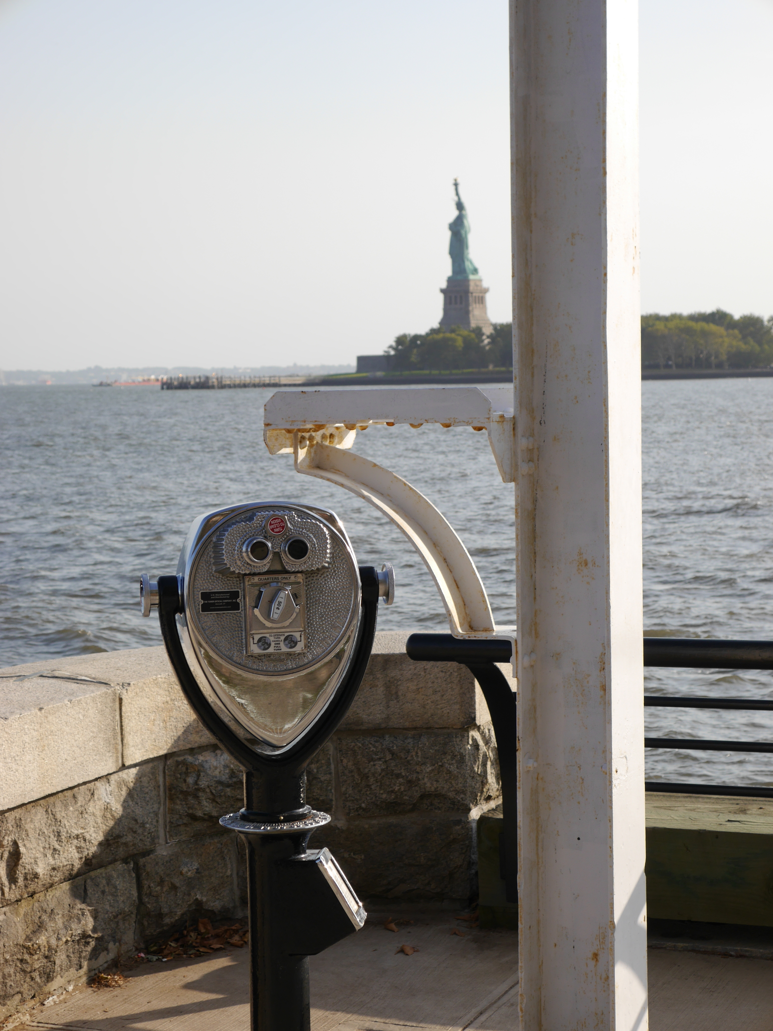 Another shot of the Statue of Liberty from Ellis Island.