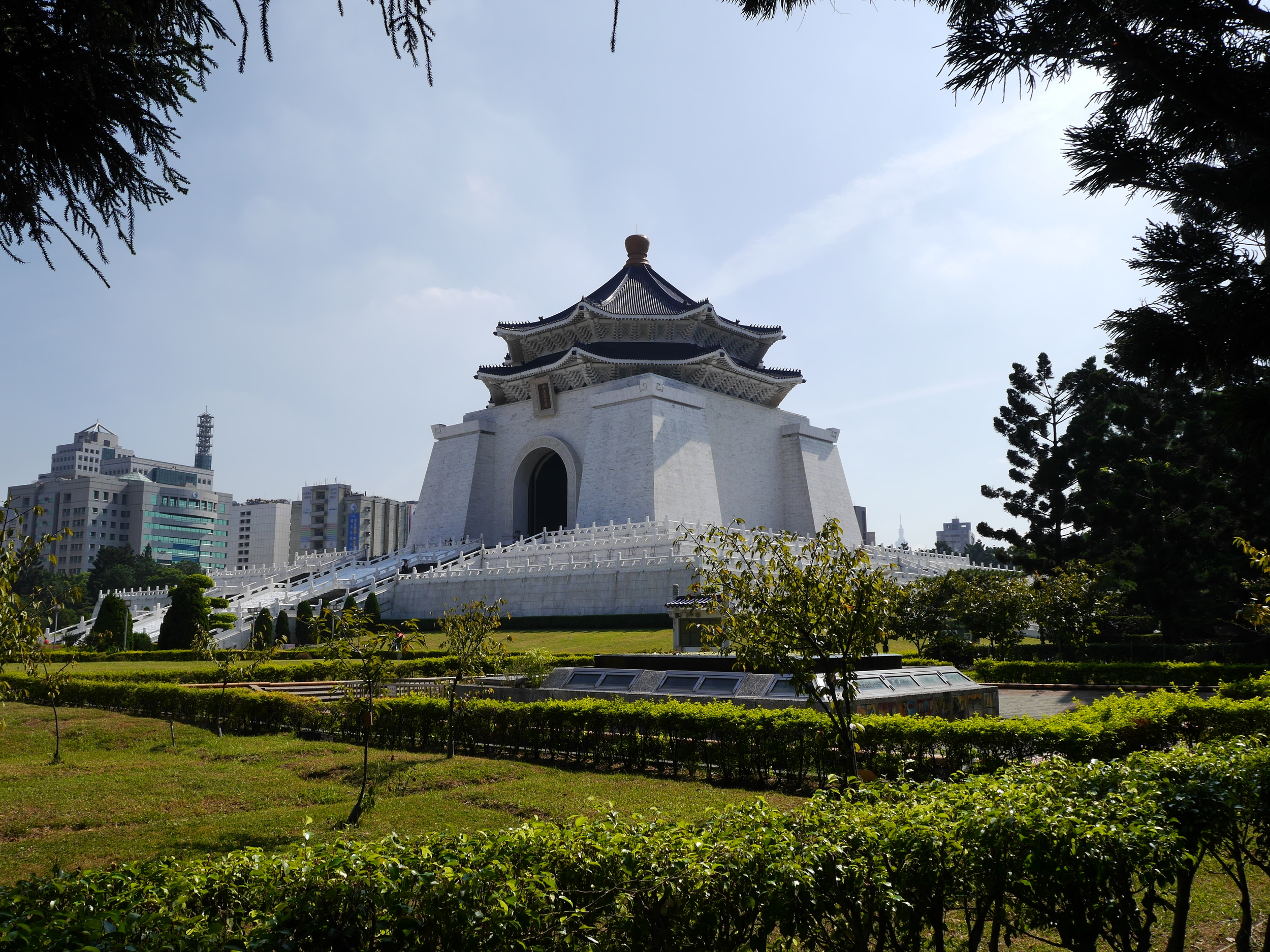 The Chiang Kai-shek Memorial Hall.