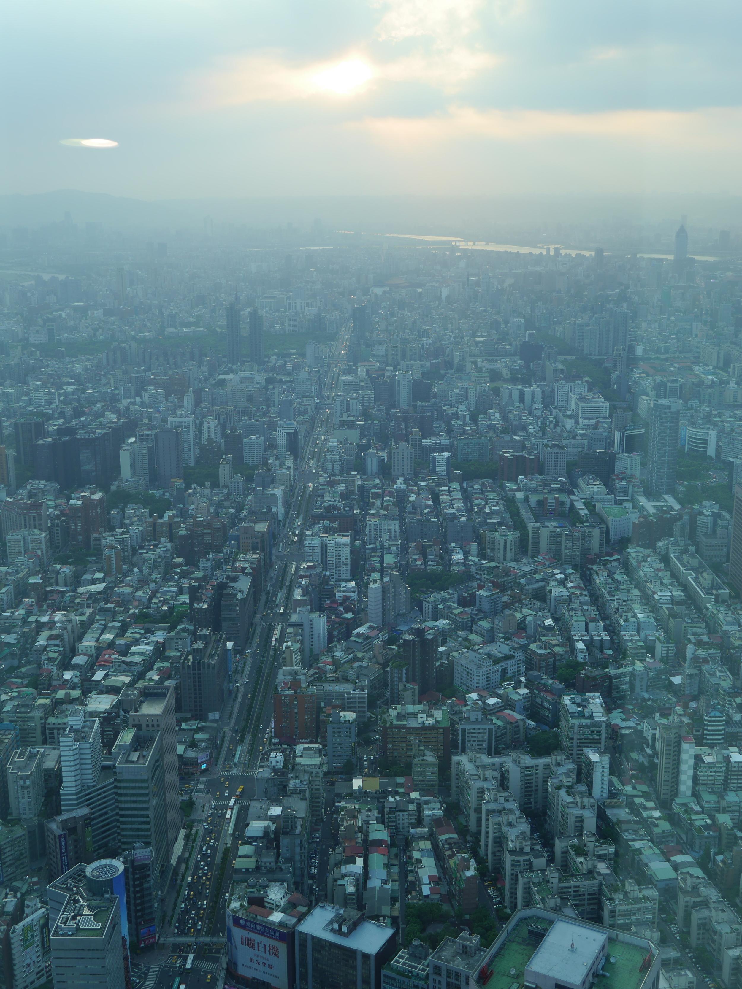 Taipei is a big city.