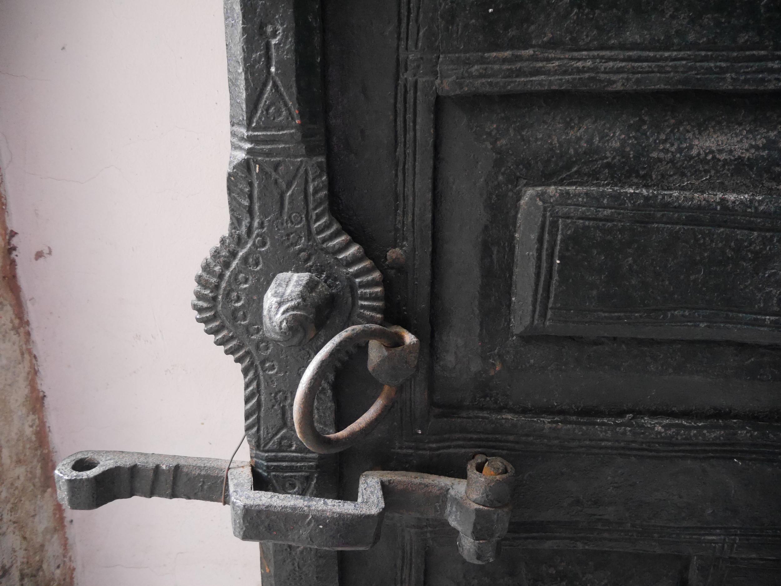 A cool door handle.