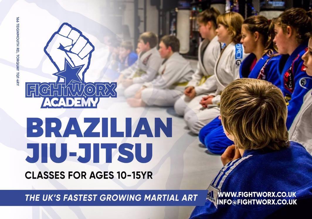 Junior Brazilian Jiu-Jitsu class
