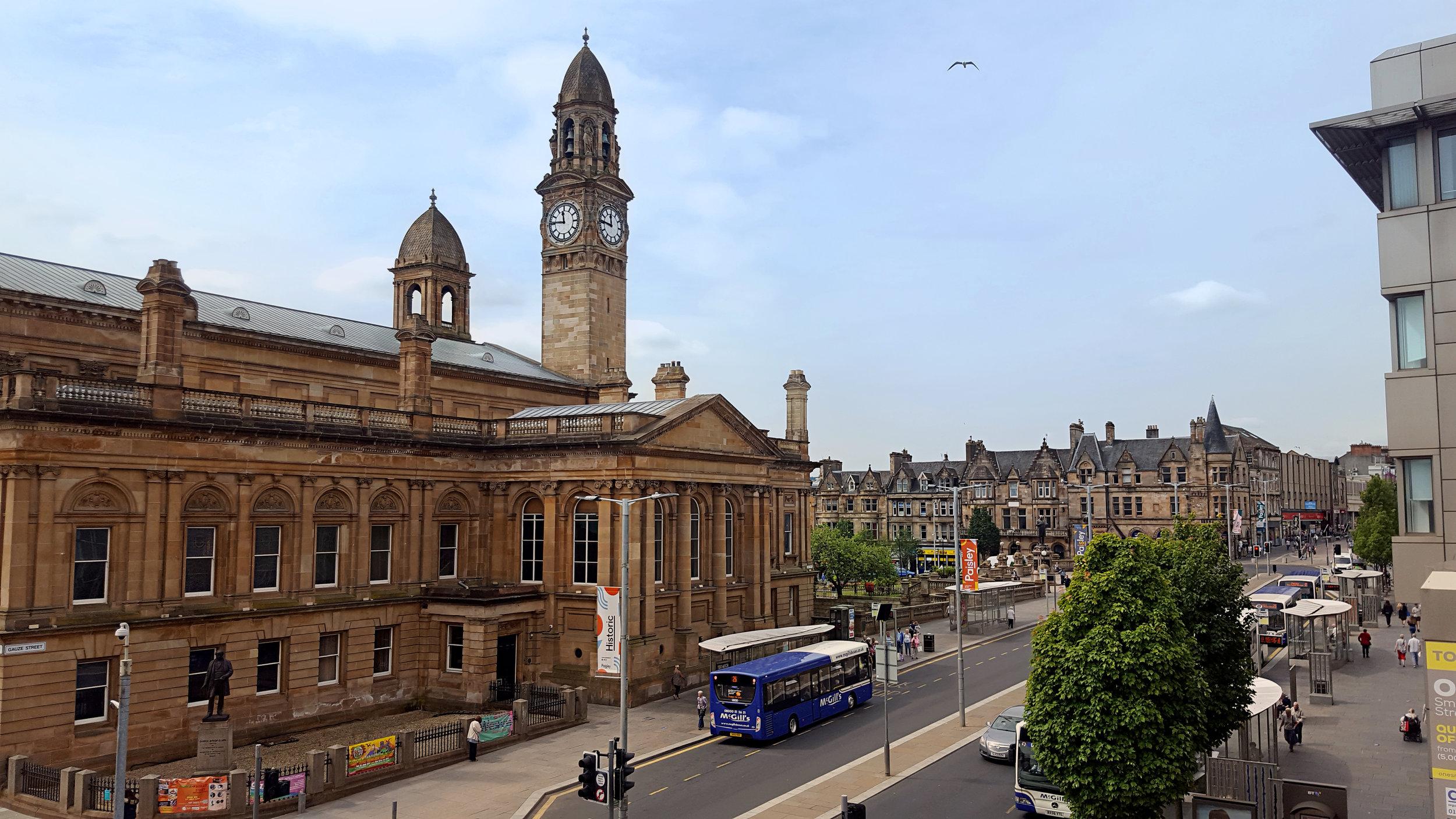 Town Hall & Gauze Street