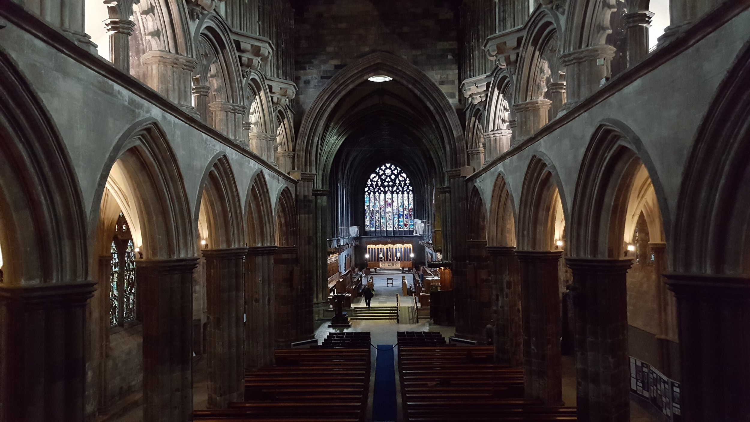 Paisley Abbey, Interior