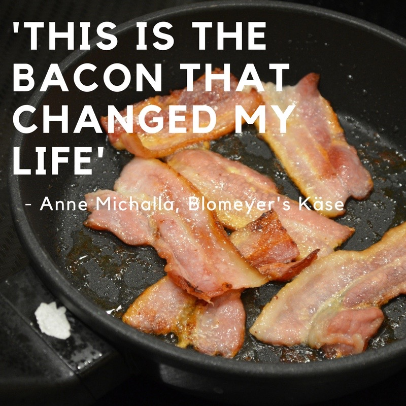 Quote from Anna at Blomeyer's Käse