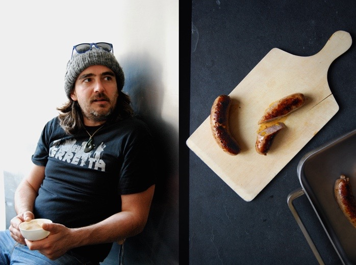 meet in your kitchen | Making sausages with Simon, The Sausage Man Never Sleeps, November 2014
