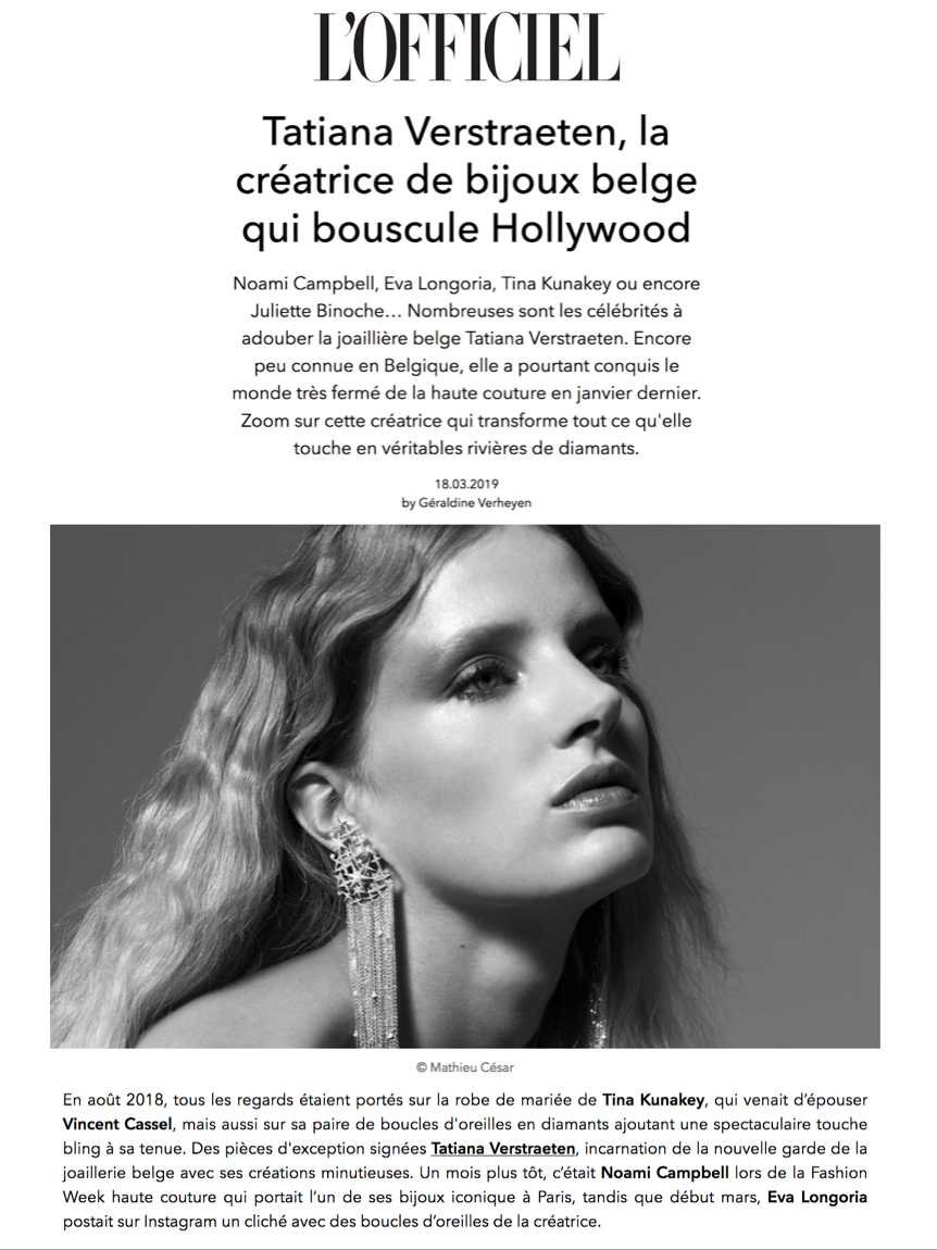 L'OFFICIEL BELGIQUE -03.2019