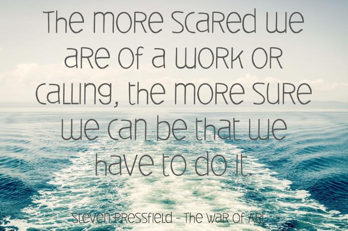 Steven Pressfield - Fear - Inspiration