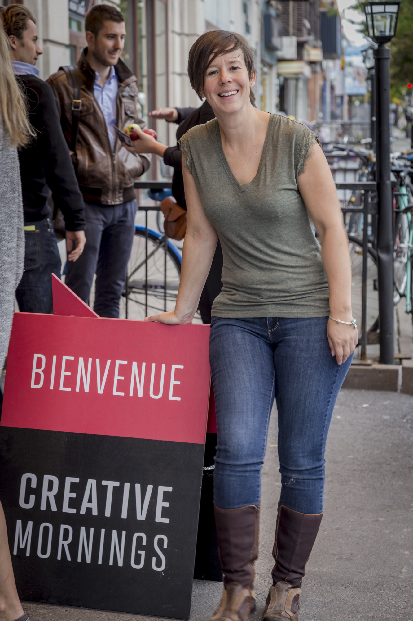 Creative Mornings Montreal, September 2015, Tora Photography