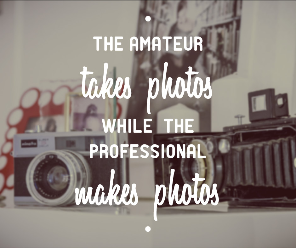 Tora Photography - Amateur vs. Professional Photographer