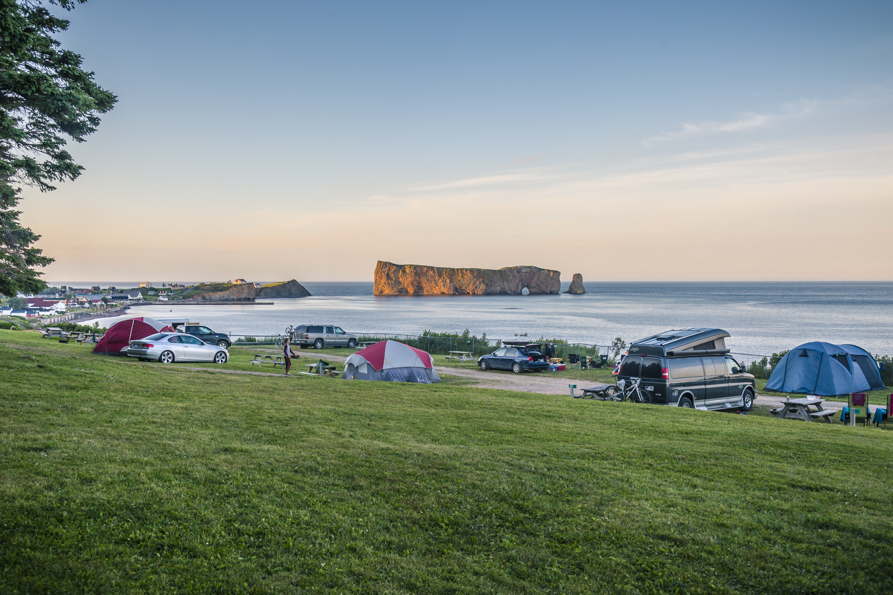 Camping Côte Surprise, Percé, Québec - Tora Photography
