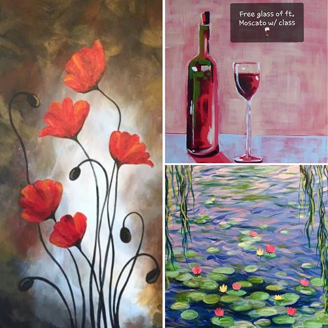 Looking for something creative and fun to do this week? Come join our amazing artist and create a masterpiece! Sign up online at artewineandpaint.com to reserve your spot! #arte #art #paintbar #wineandpaint #wine #wauwatosa #girlsnight #familyfun #fun #datenight #tosa #paintclass #supportlocal #tosavillage #color #tuesday #goodtimes