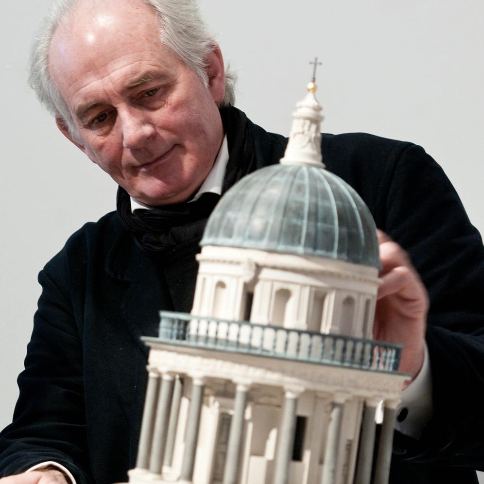 Dan Cruickshank -Art Historian   PLUS ONE GALLERY, LONDON >
