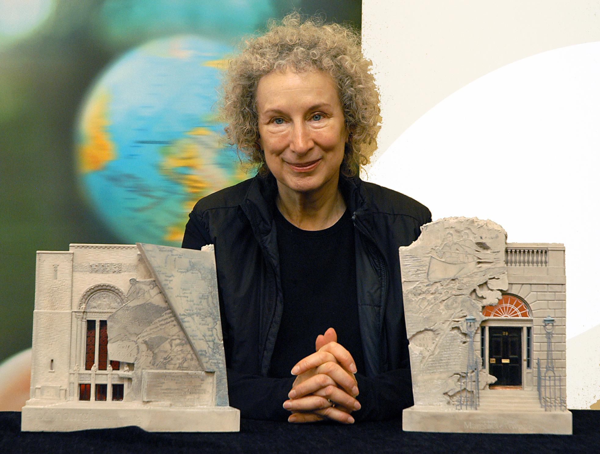 Margaret Atwood's Enlightenment Award.JPG