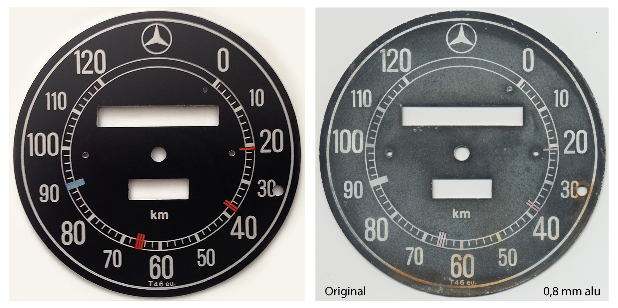 Speedometerskive