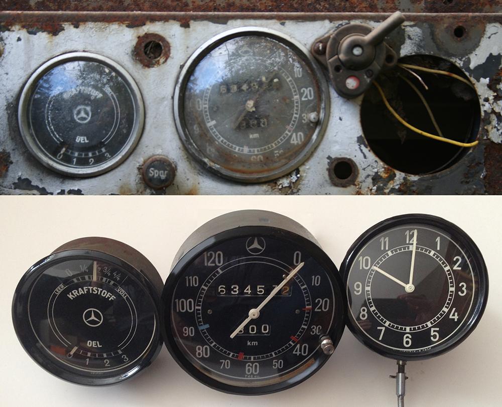 Instrument Mercedes 1939