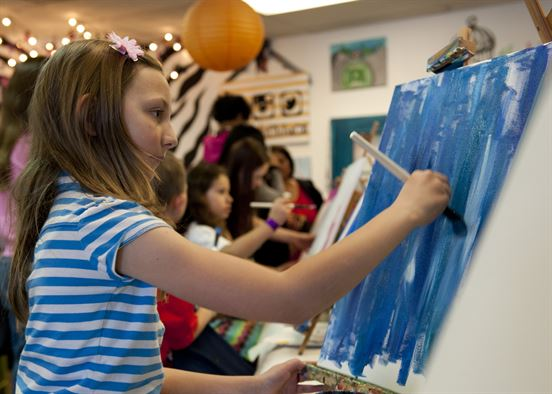 kids painting on canvas.JPG