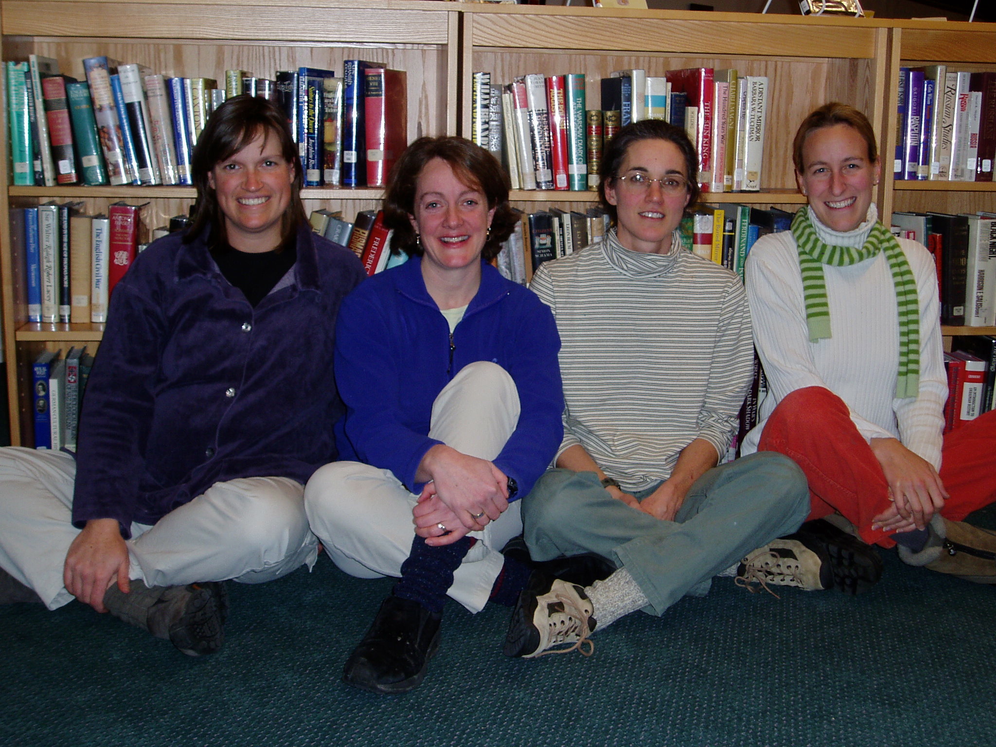 Jessie Griffiths, Jane Zanger, Jane Crosby, and Lisen Kern, Founders of Woodland Community School