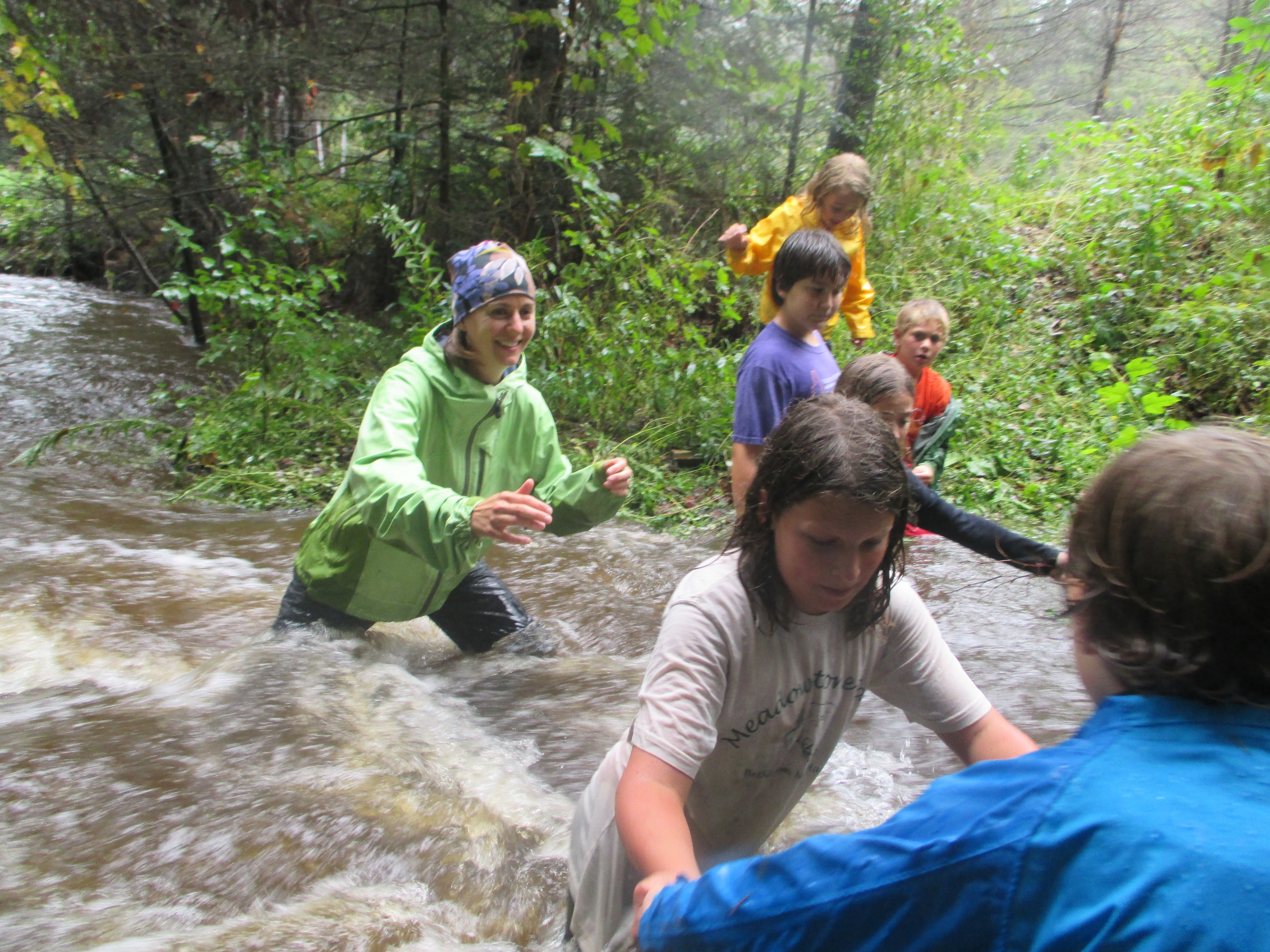 Surviving the Woodland flood of 2015!