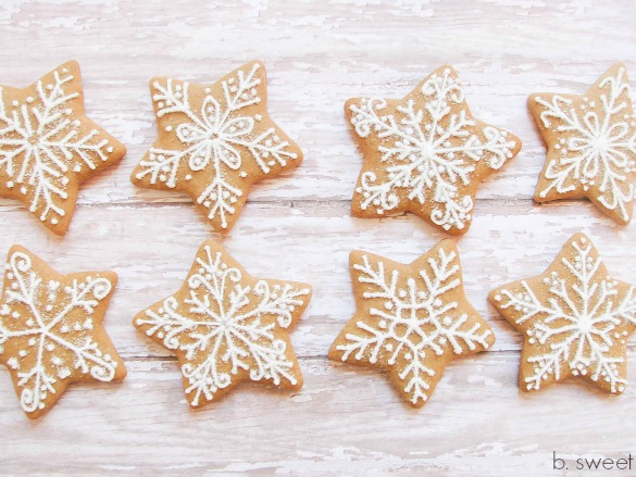 Gingerbread Snokflakes