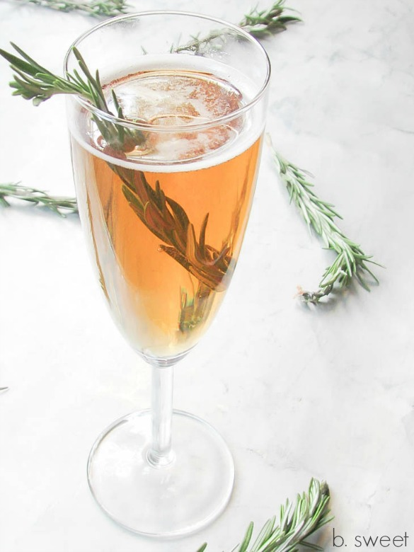Pear and Rosemary Infused Vodka