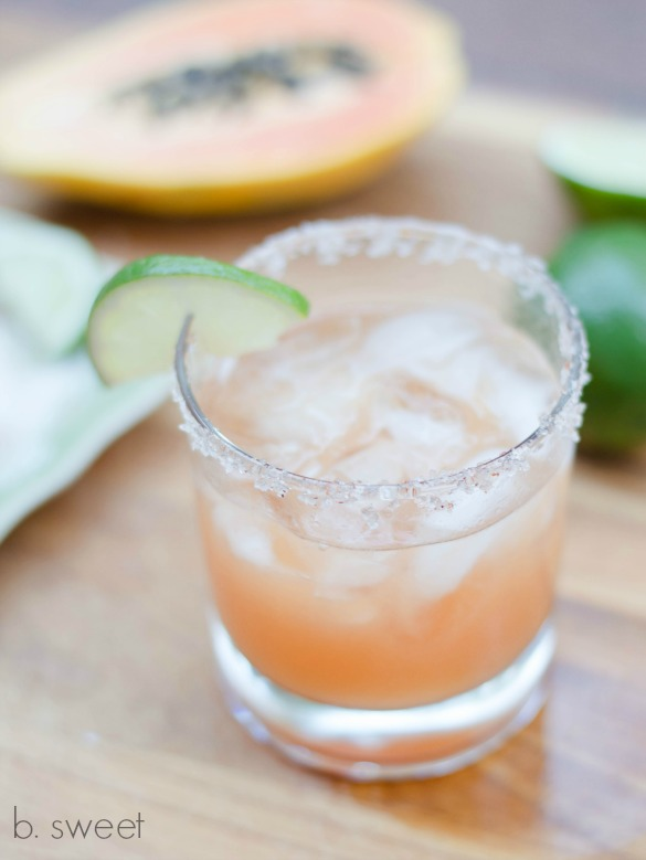 Papaya Chili Lime Margarita