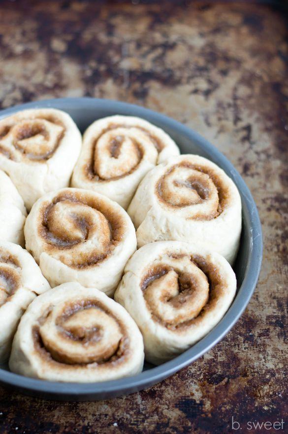 1 Hour Cinnamon Rolls