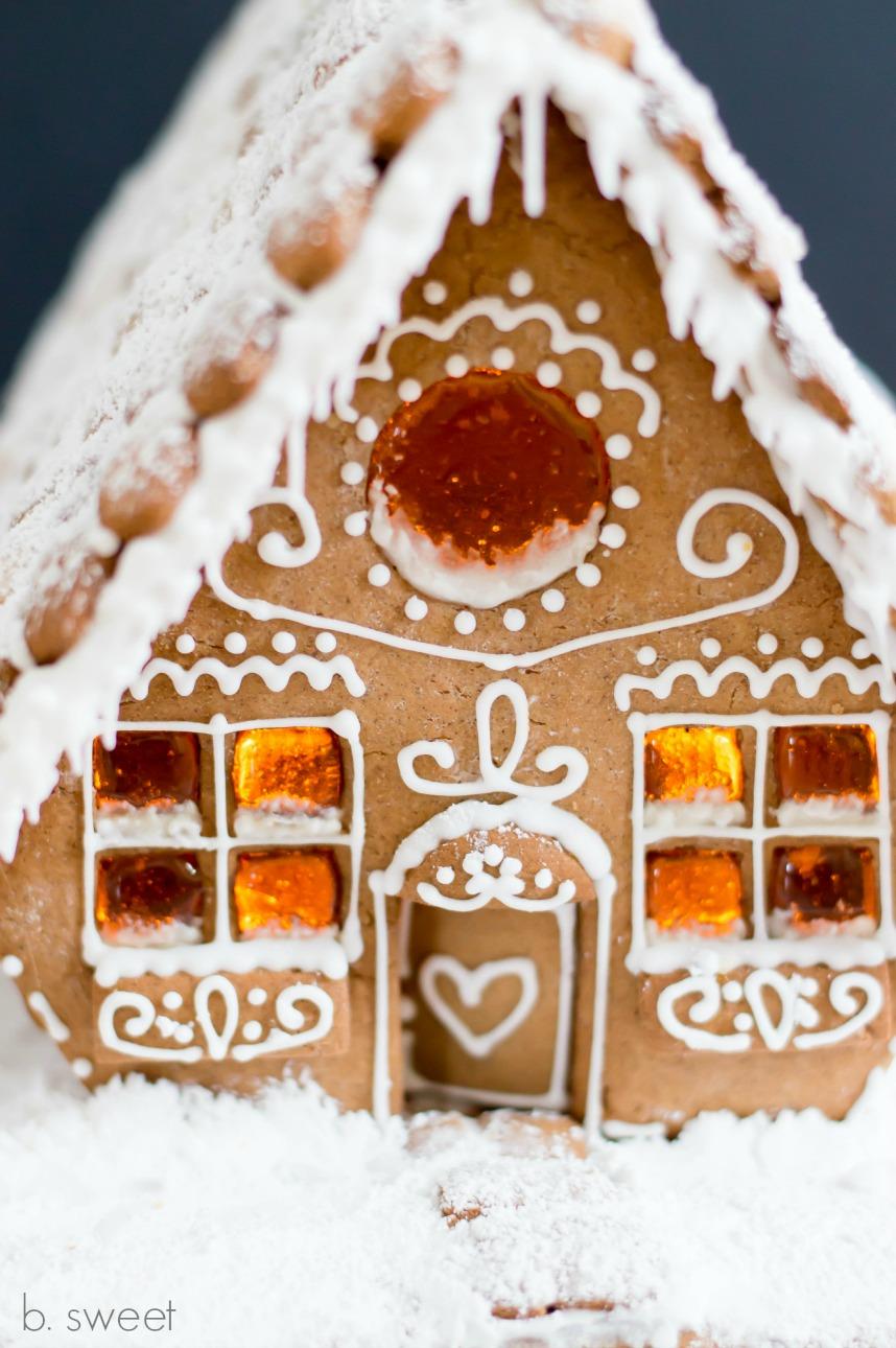 Gingerbread House- b. sweet
