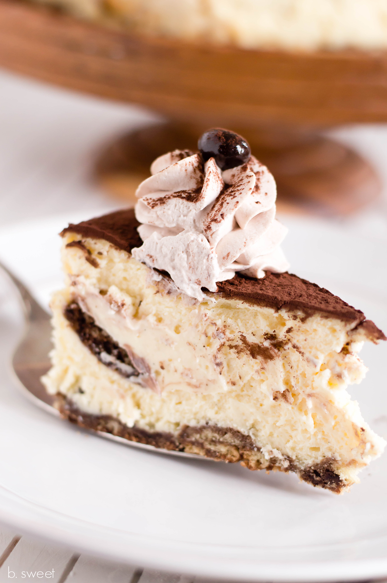 Tiramisu Cheesecake - b. sweet