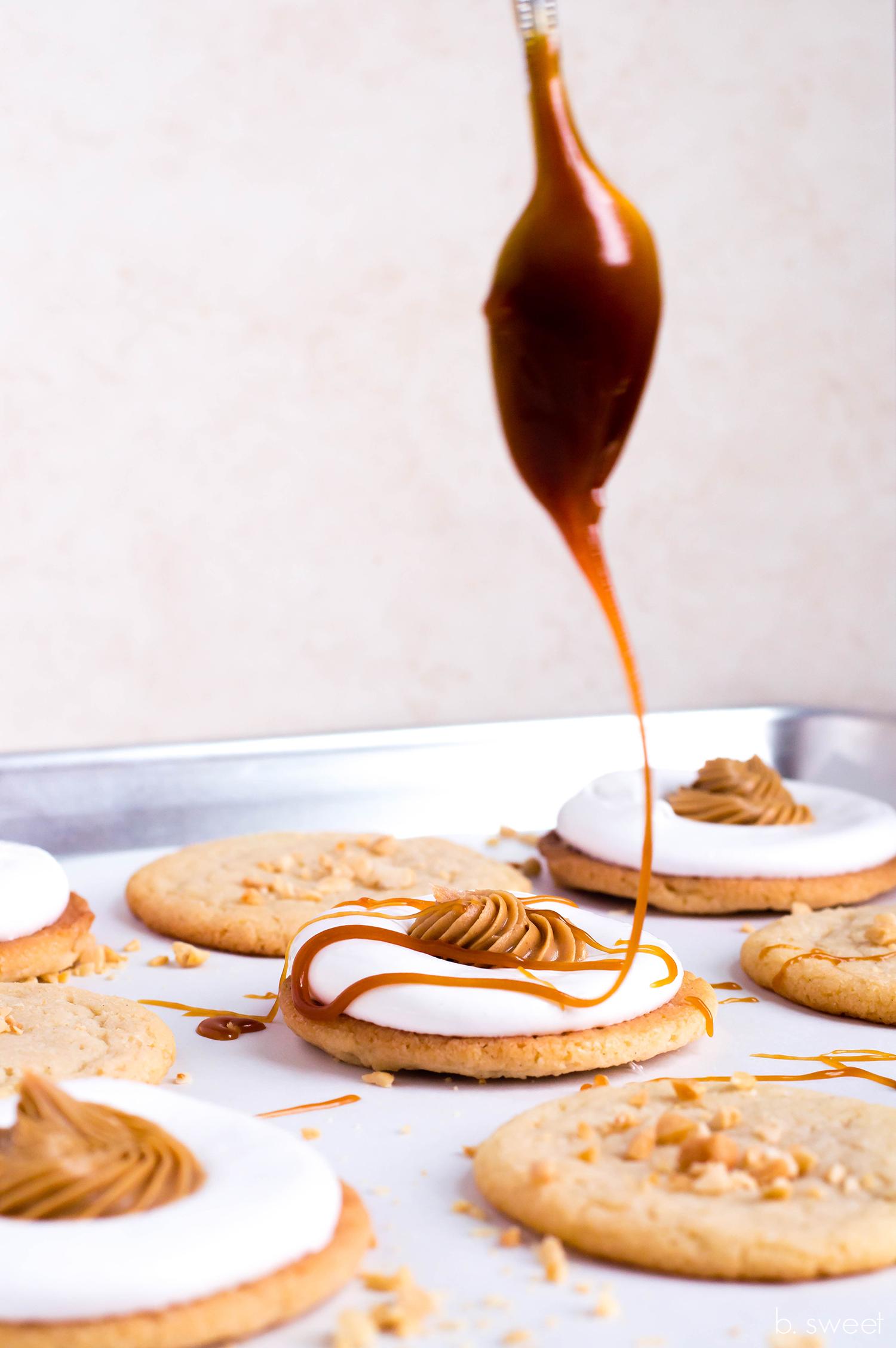 Marshmallow Sandwich Cookies - b. sweet