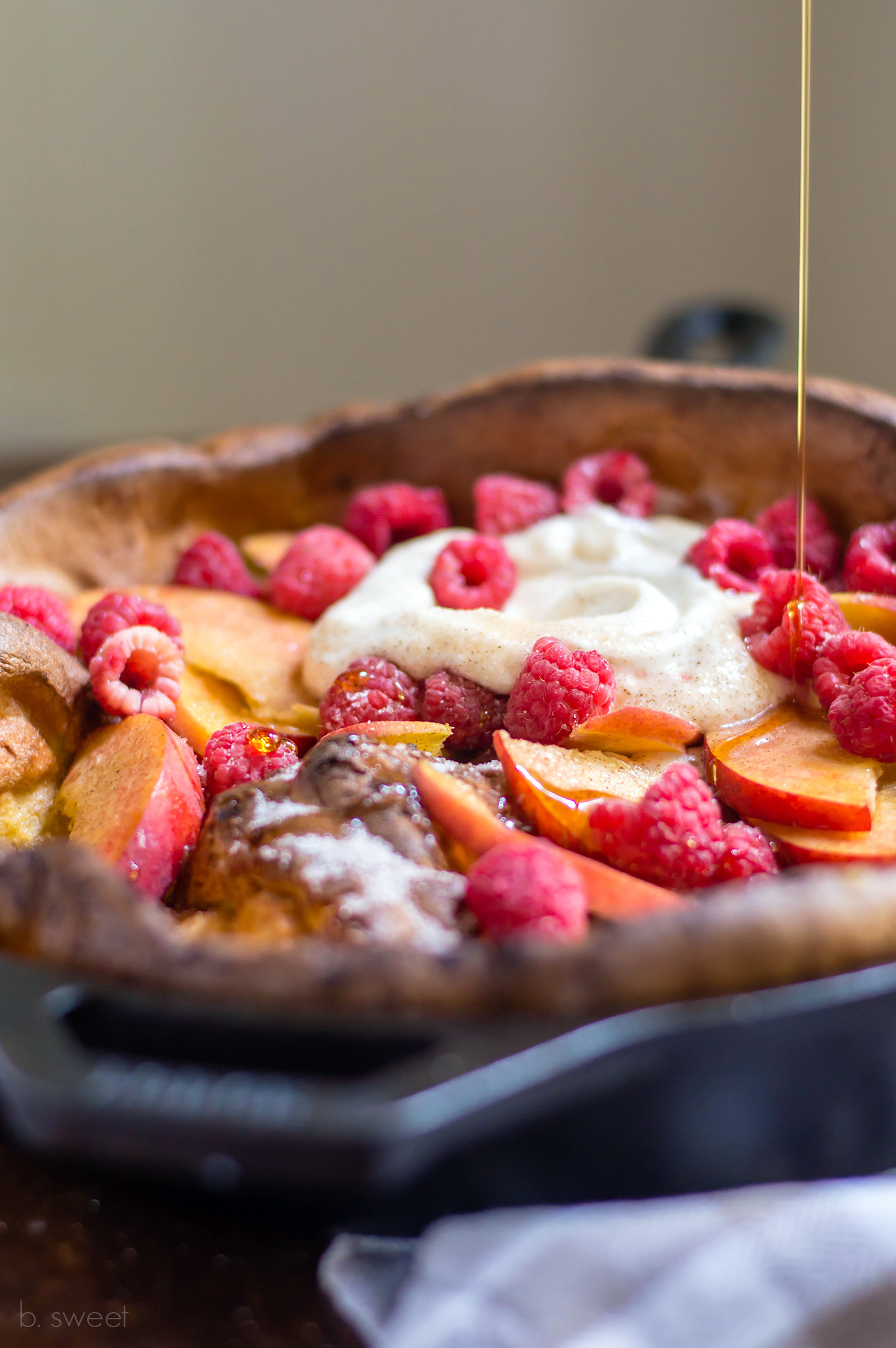 Cinnamon Sugar Dutch Baby Pancake - b. sweet