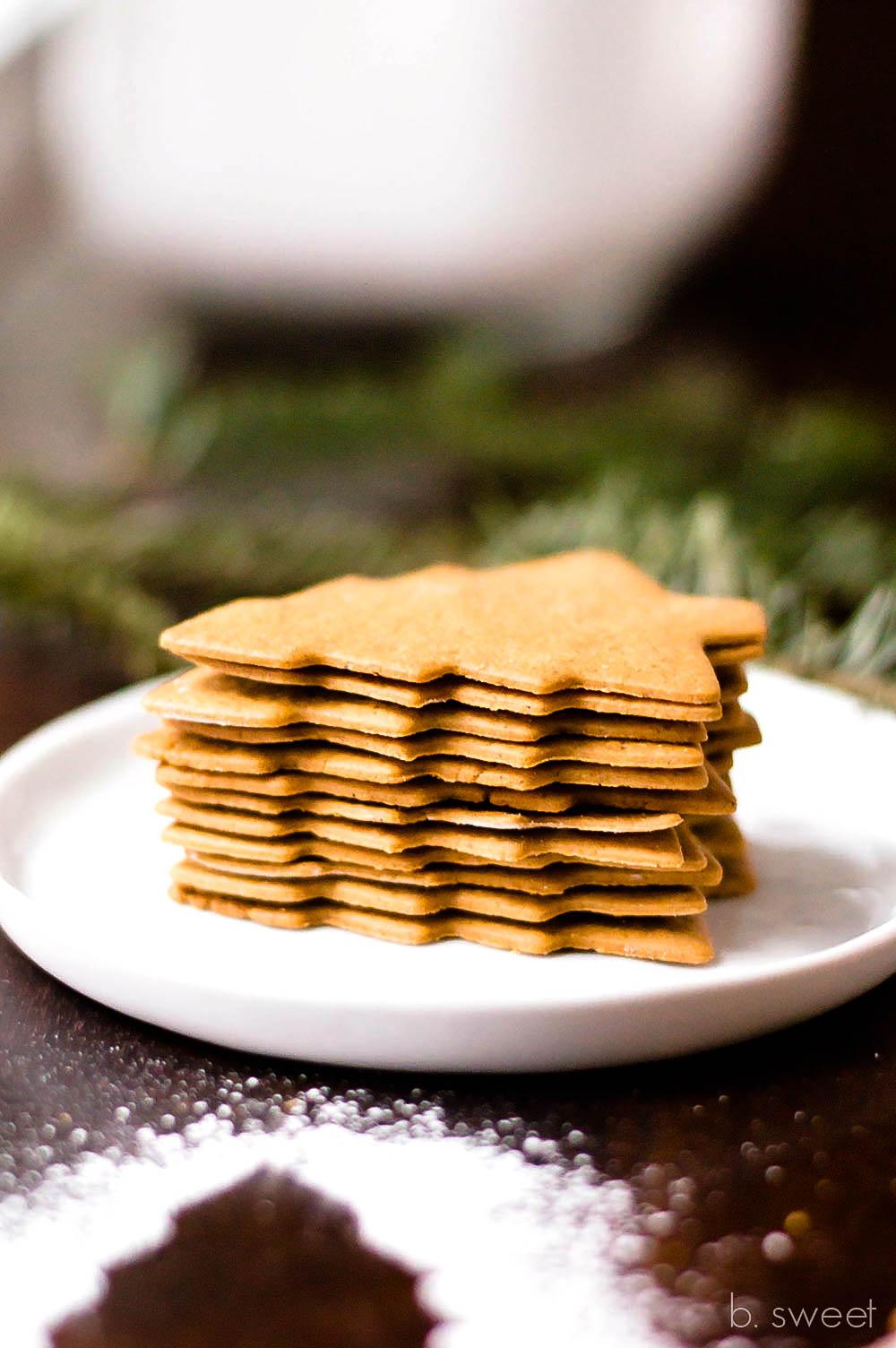 Moravian Spice Cookies - b. sweet