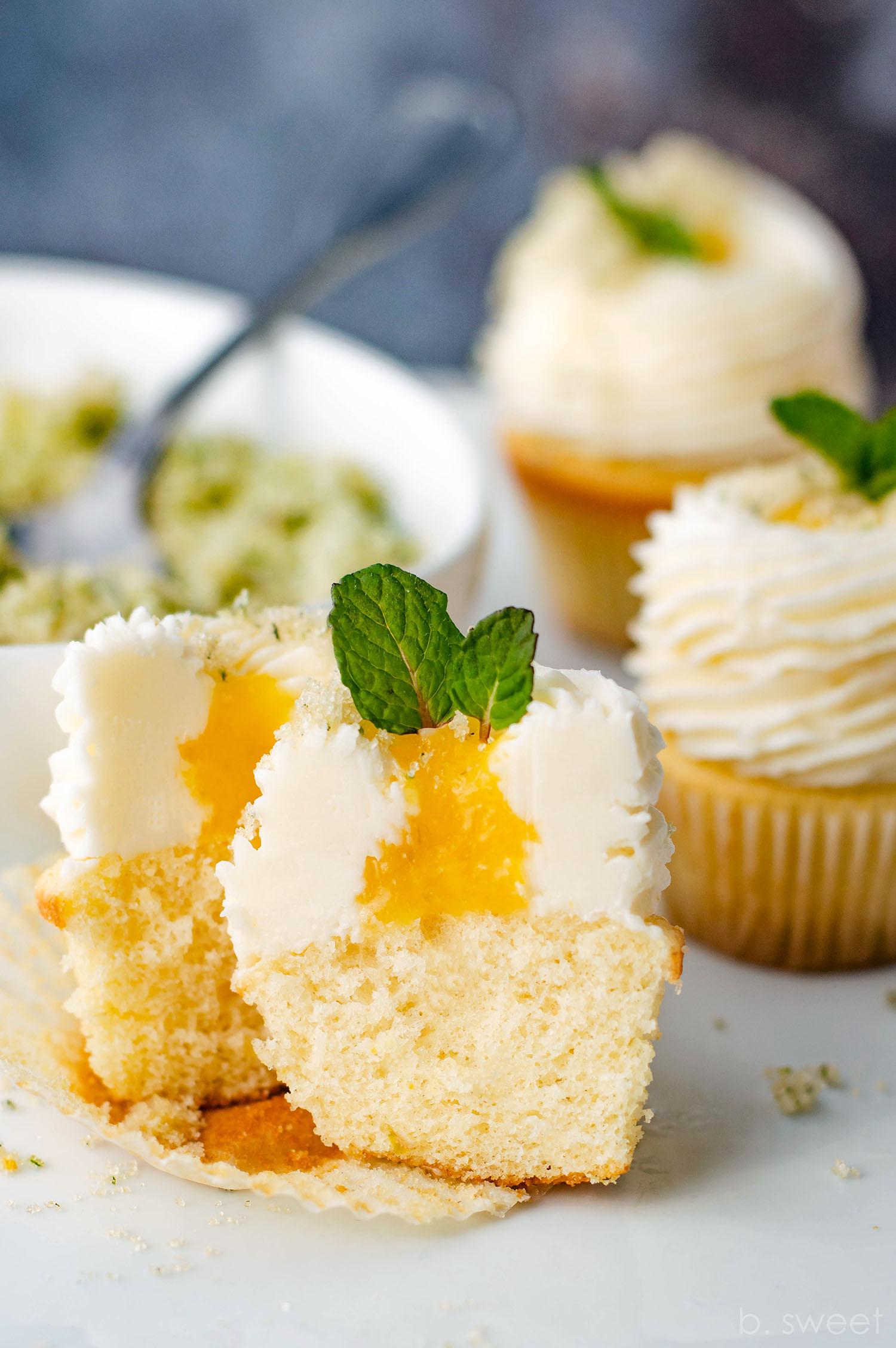 Mini Mojito Cupcakes - b. sweet