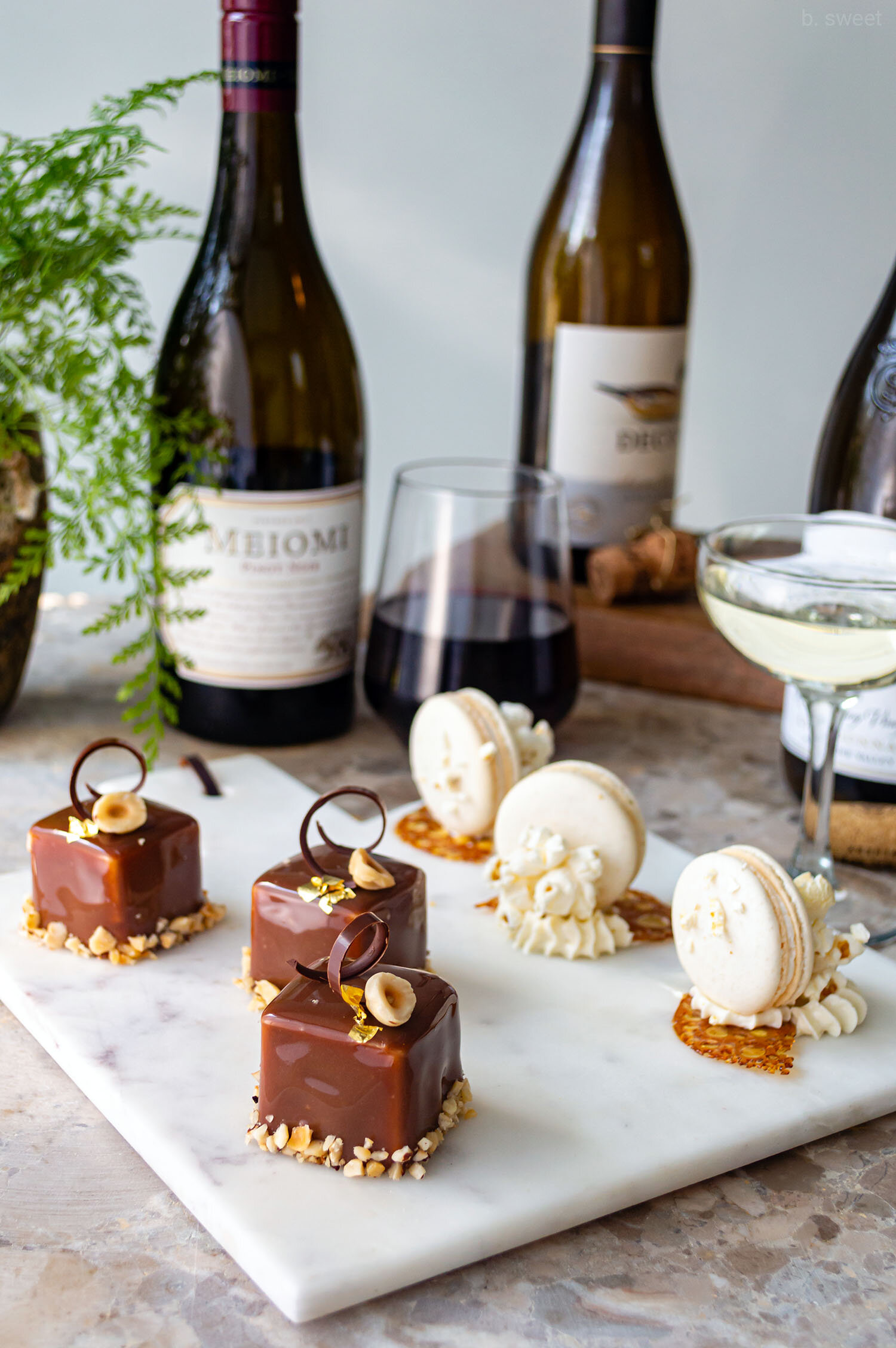 Fall Dessert and Wine Pairing Teaser for A Night to Remember - b. sweet