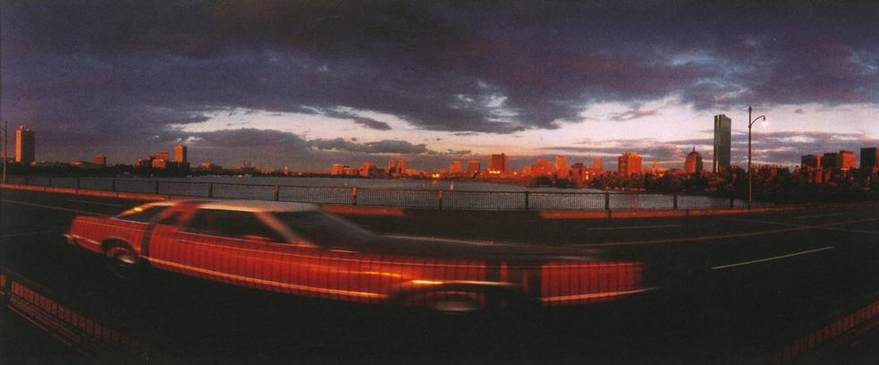 Red Car Panoramic