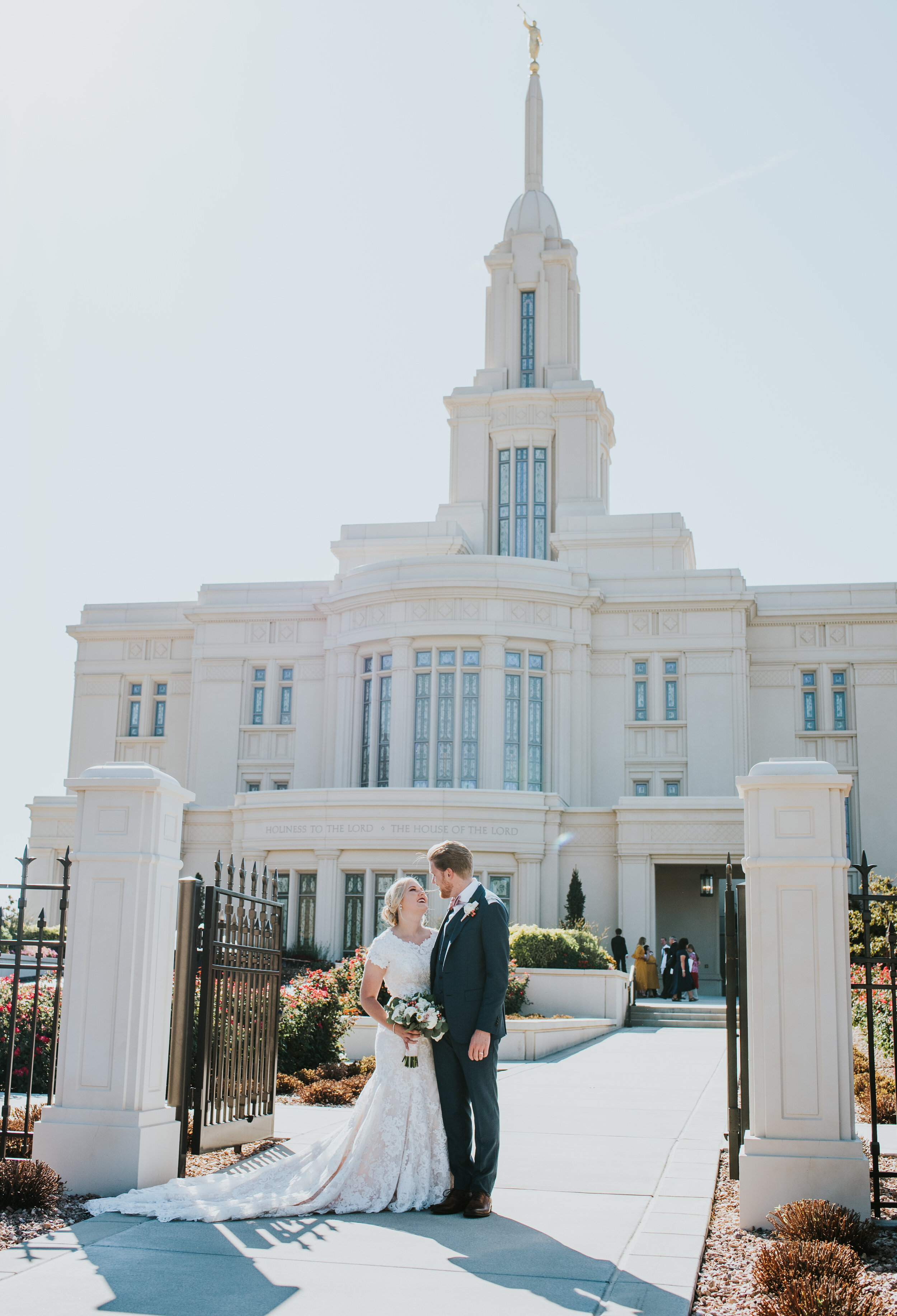 Payson Utah Temple Payson utah sealed for eternity just married bridal pictures pictures outside the temple wedding day suit and tie happy couple couple posing outside the temple modest wedding dress wedding flowers couple posing ideas couple standing posing ideas bridal hair inspiration utah photographer #utahweddingphotographer #weddingphotography #bride #groom #love #utahvalleyweddingphotographer #ldstemple #templewedding #ldsbride #weddingdress #couplegoals #relationshipgoals