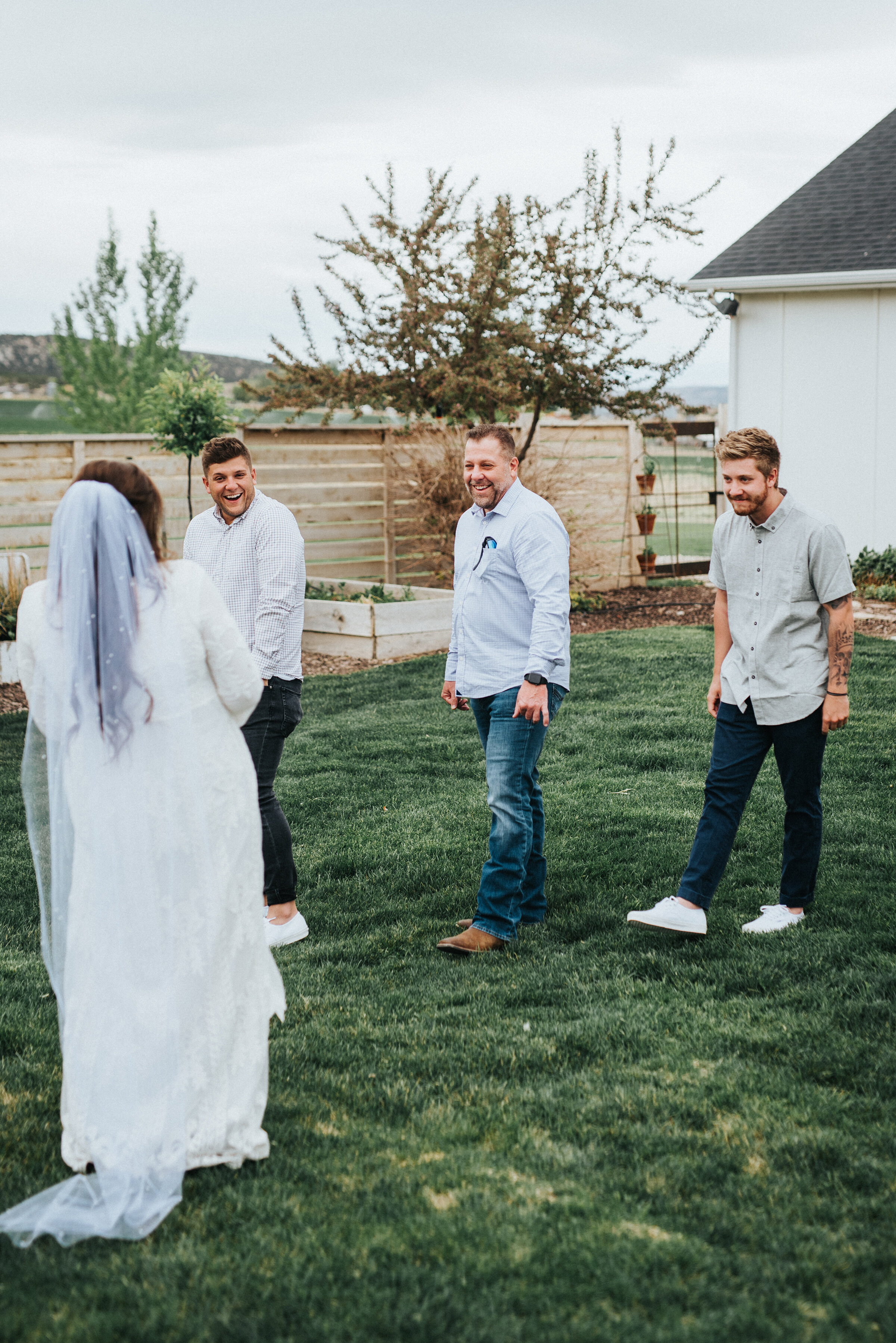 Wedding day in Ephraim, Utah at the rented Airbnb was intimate and perfect for a rustic, western, outdoor ceremony for this bride and groom. photoshoot in Ephraim Utah photography wedding outdoor location western inspired rustic Airbnb photo aesthetic #ephraimutah #utahphotography #weddingdayphotography #gettingmarried #rusticwedding #utahwedding #westernstyle #weddingphotoshoot