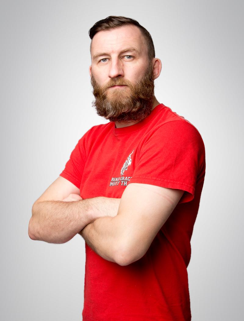 Head MMA Coach Jamie Crowder