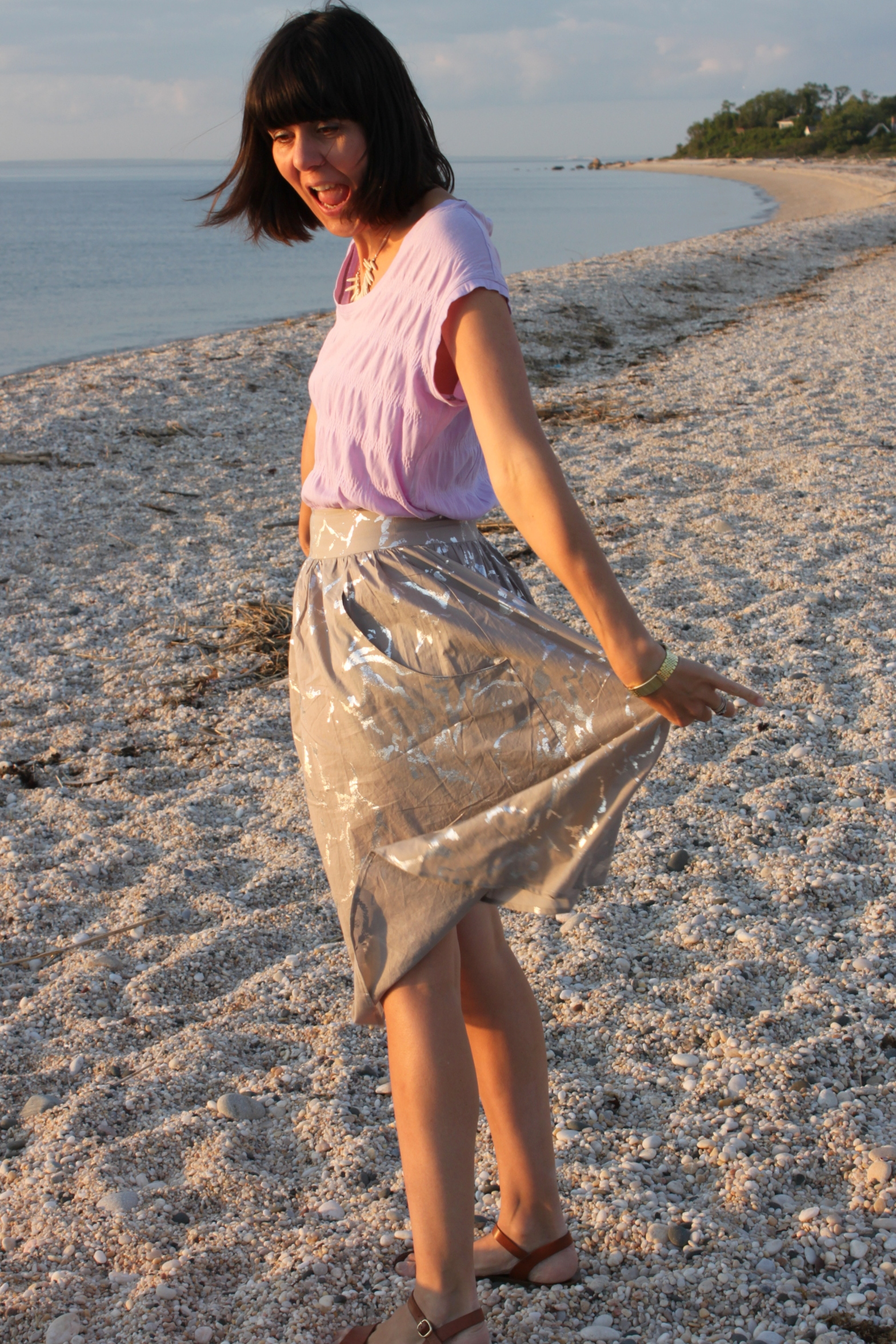 Brumby Skirt and Elise Tee 2