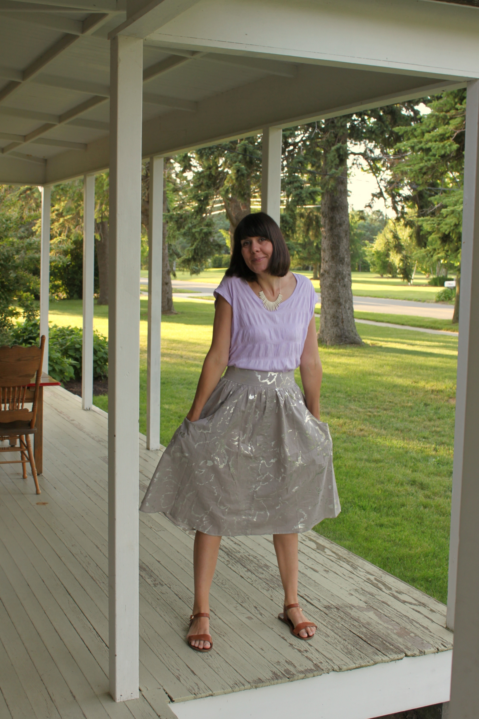 Brumby Skirt and Elise Tee 6
