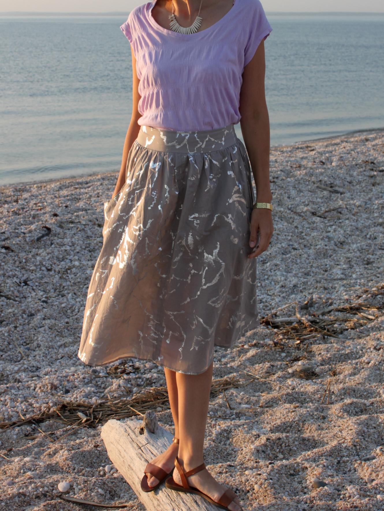 Brumby Skirt and Elise Tee 7