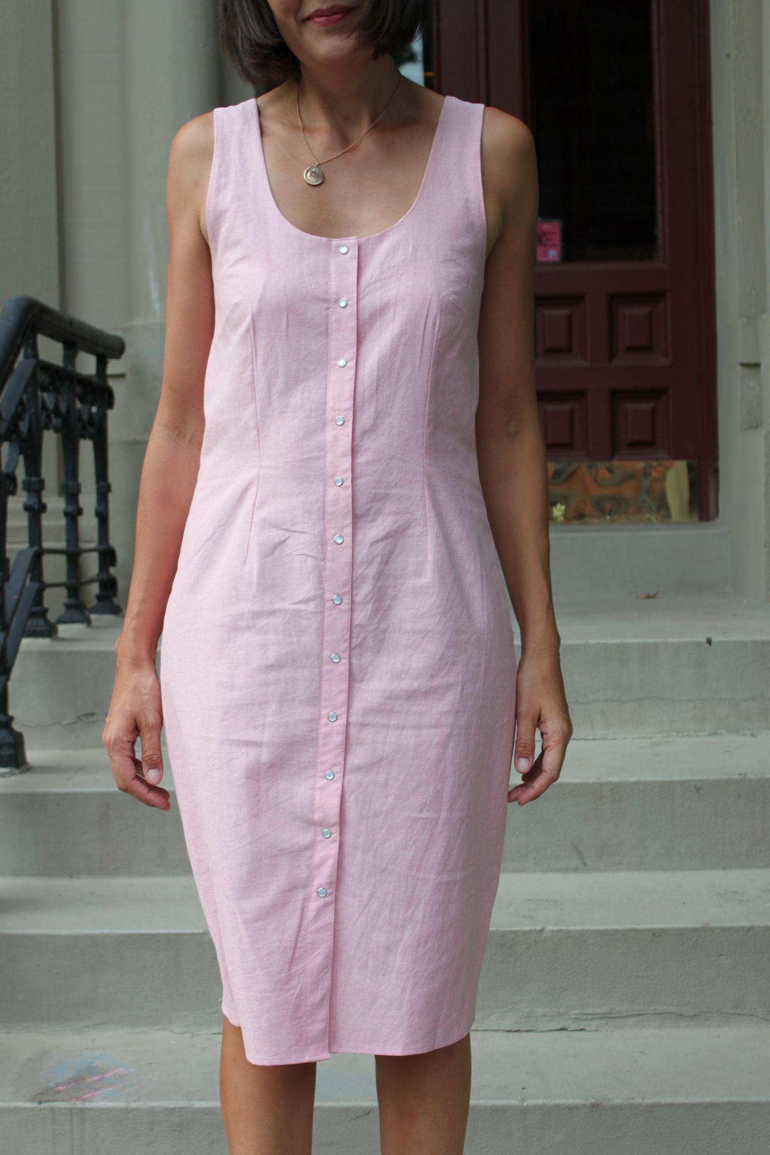Violet dress 6