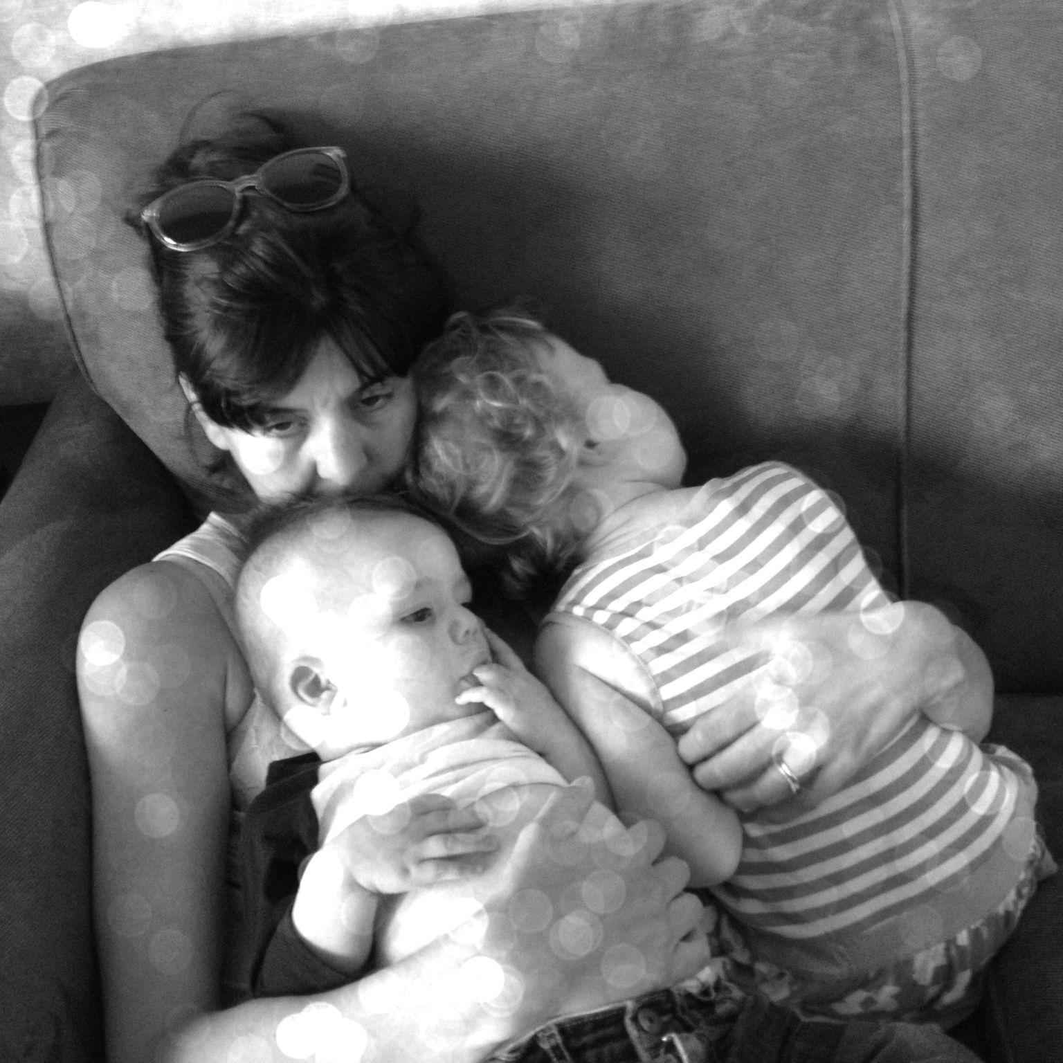 sewing and motherhood
