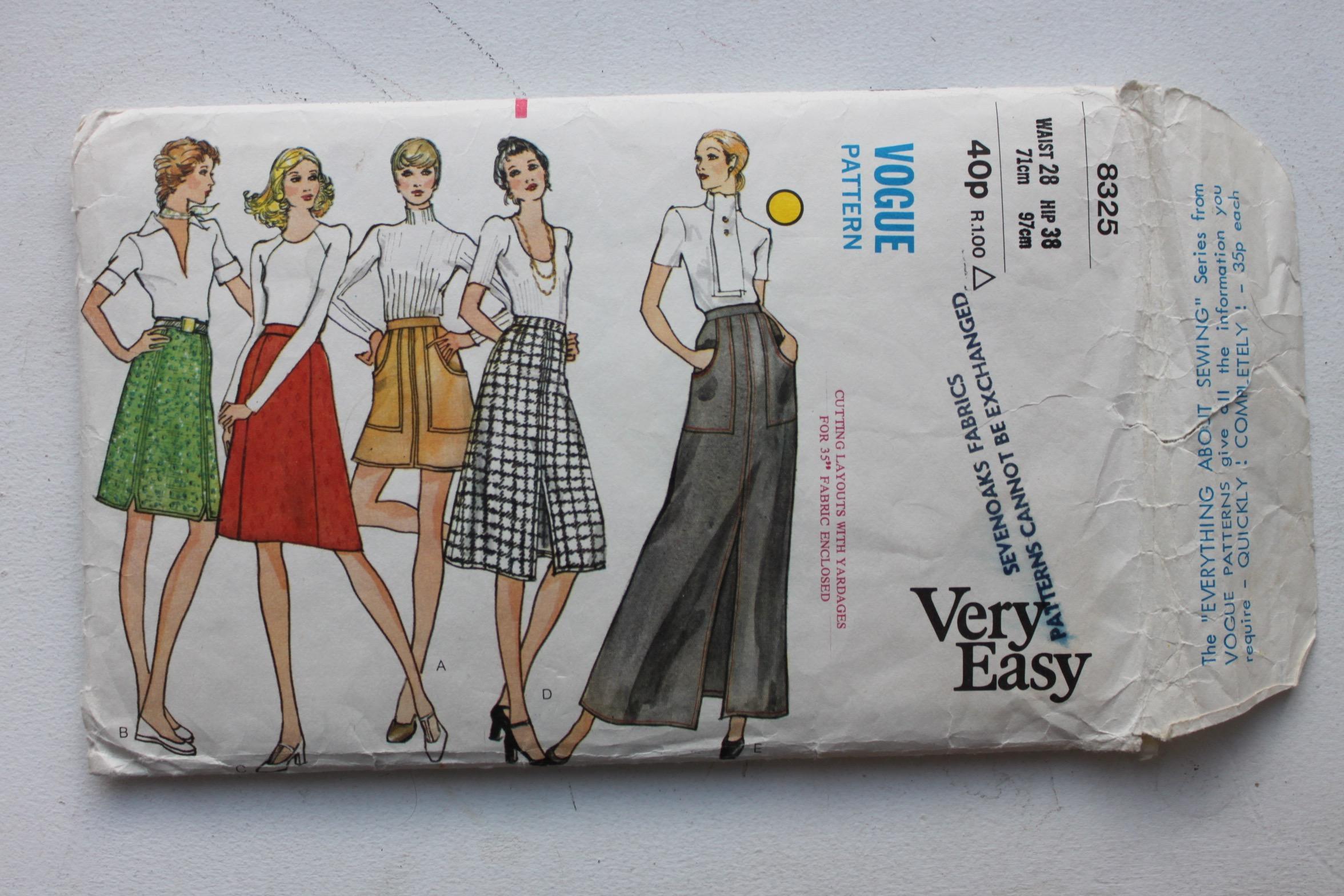 Vogue 8325 pattern