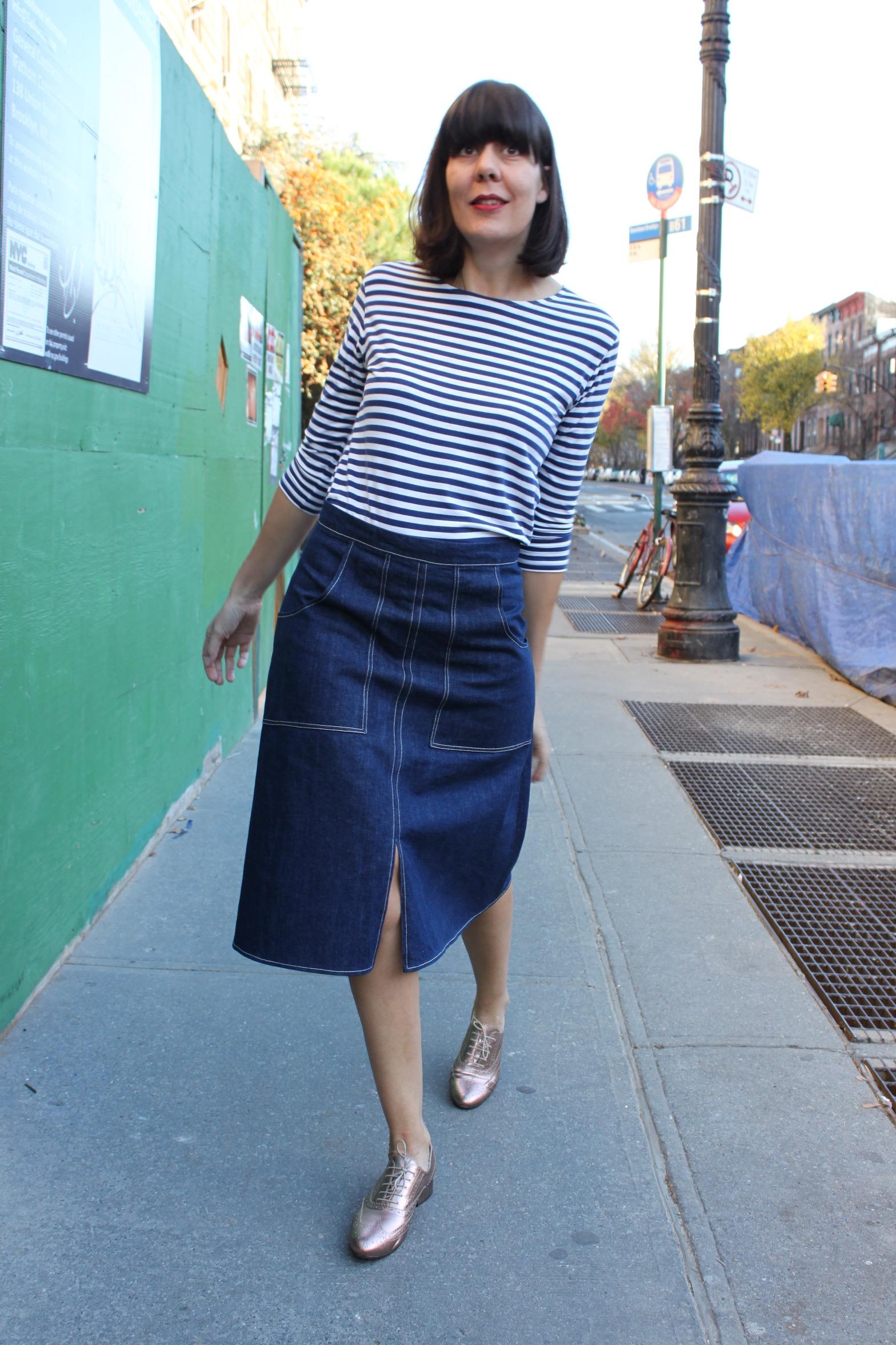 A-line skirt 4